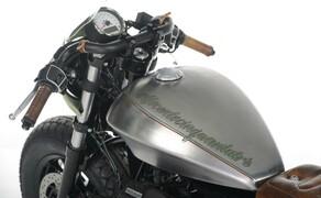 Ottocentocinquantatré - 853 cm³ in der Custom Moto Guzzi Bobber Bild 19