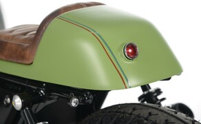 Ottocentocinquantatré - 853 cm³ in der Custom Moto Guzzi Bobber Bild 20