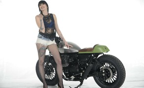 Ottocentocinquantatré - 853 cm³ in der Custom Moto Guzzi Bobber Bild 5