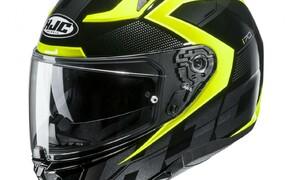 Helmneuheiten 2019  Bild 13 Mit dem i 70 präsentiert HJC ein brandneues Modell als Nachfolger des IS-17, der in den vergangenen 6 Jahren rund eine halbe Million Mal in Europa verkauft worden ist. Das schlanke Design basiert auf der merklich kleineren Schale dieses sehr kompakten und leichten Helmes.