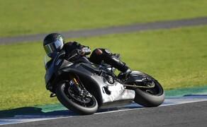 Lewis Hamilton Yamaha Superbike Test 2018 Bild 5
