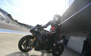 Lewis Hamilton Yamaha Superbike Test 2018 Bild 7