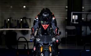 Lewis Hamilton Yamaha Superbike Test 2018 Bild 12