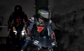 Lewis Hamilton Yamaha Superbike Test 2018 Bild 13