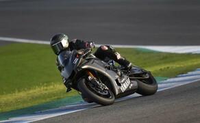 Lewis Hamilton Yamaha Superbike Test 2018 Bild 16