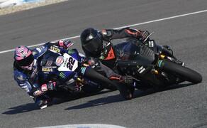 Lewis Hamilton Yamaha Superbike Test 2018 Bild 19