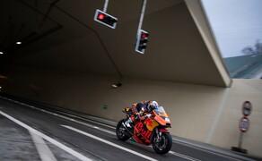 Mit dem KTM MotoGP Bike durch den Gleinalmtunnel Bild 11