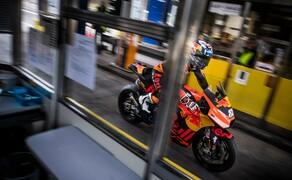 Mit dem KTM MotoGP Bike durch den Gleinalmtunnel Bild 7
