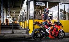 Mit dem KTM MotoGP Bike durch den Gleinalmtunnel Bild 12