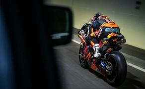 Mit dem KTM MotoGP Bike durch den Gleinalmtunnel Bild 8