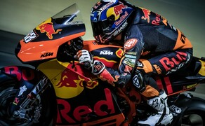 Mit dem KTM MotoGP Bike durch den Gleinalmtunnel Bild 9