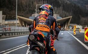 Mit dem KTM MotoGP Bike durch den Gleinalmtunnel Bild 10