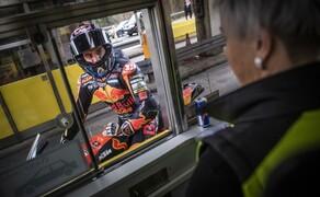 Mit dem KTM MotoGP Bike durch den Gleinalmtunnel Bild 2