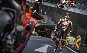 Mit dem KTM MotoGP Bike durch den Gleinalmtunnel Bild 3