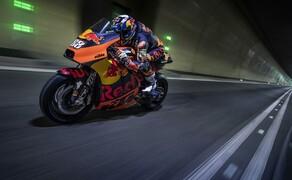 Mit dem KTM MotoGP Bike durch den Gleinalmtunnel Bild 5