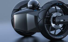 SIV Katana Sword Concept Bike Bild 13