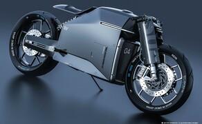 SIV Katana Sword Concept Bike Bild 3