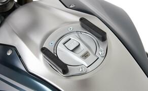 Neues Hepco&Becker Zubehör für die BMW R 1250 R BJ 2019 Bild 6 Tankring Lock it