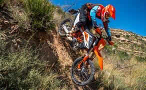KTM ORANGE DAYS - 06. APRIL 2019 Bild 4 KTM 690 ENDURO R - erhöht den Adrenalinspiegel auf jeder Tour sofort