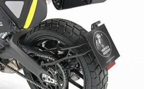 Hepco&Becker Zubehör für die Ducati Scrambler 800 (BJ. 19) Bild 1 Kennzeichenhalter: 194,95 €