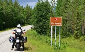 Die besten Routen für eine Motorradtour ans Nordkap Bild 4 In Finnland bietet die Route auf der Via Karelia Natur pur und Einsamkeit  © Feelgood Reisen