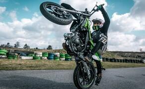 Rieju Freejump 50 Supermoto Stunts & Action Bild 11