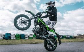 Rieju Freejump 50 Supermoto Stunts & Action Bild 16