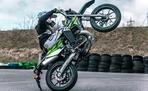 Rieju Freejump 50 Supermoto Stunts & Action Bild 18