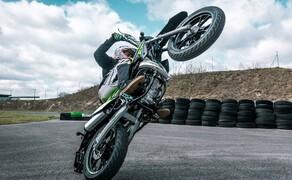 Rieju Freejump 50 Supermoto Stunts & Action Bild 19
