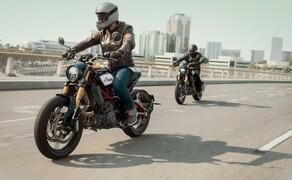 Indian Motorcyle – Neuheiten 2019 Bild 5 Indian führt die FTR 1200 in der ersten Jahreshälfte 2019 auf den weltweiten Märkten ein und verfolgt mit der neuen Plattform eine klare Strategie: Dieses vielschichtige Spitzenprodukt soll neue Kunden ansprechen und die Präsenz der Marke rund um den Globus steigern.