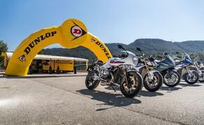 Dunlop Sportsmart MK3 Test Rennstrecke und Landstrasse Bild 20 Für den Test auf der Landstraße standen unterschiedlichste Bikes zur Verfügung.