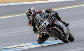 Erste Führungskilometer für Maximilian Kofler in der Junioren-WM Bild 11 Maximilian Kofler in der Moto3-Juniorenweltmeisterschaft