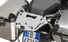 GIVI Zubehör für die BMW R 1250 GS Adventure 2019 Bild 5 Alu Träger für MONOKEY Koffer: 181,- Euro