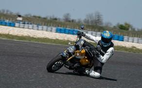 Honda Monkey auf der Rennstrecke! Kneedown am Pannoniaring! Bild 3