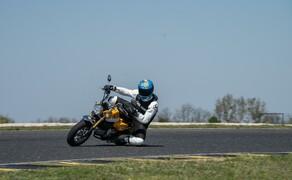 Honda Monkey auf der Rennstrecke! Kneedown am Pannoniaring! Bild 4