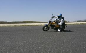 """Honda Monkey auf der Rennstrecke! Kneedown am Pannoniaring! Bild 16 Foto: Peter Burgstaller - <a href=""""http://www.peterburgstaller.at/"""">www.peterburgstaller.at</a>"""