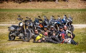 Reiseenduro Vergleichstest 2019: Moto Guzzi V85 TT Bild 1 Unser großer Reiseenduro-Vergleichstest 2019 Foto: Erwin Haiden, nyx.at