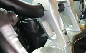 BMW R1250RT Umbau & Motorradzubehör für die Saison 2019 Bild 18 Lenkererhöhung mit Versatz für BMW RnineT, RnineT Scrambler, Pure & Urban G/S