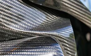BMW R1250GS Attack Dauertest Bild 3 Die Verarbeitungsqualität vom Ilmberger Carbon ist atemberaubend.