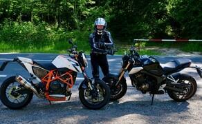 Honda CB650R vs. KTM 690 Duke 2019 Bild 1