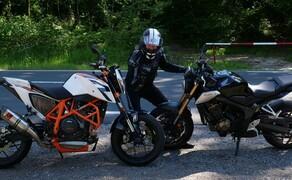 Honda CB650R vs. KTM 690 Duke 2019 Bild 12