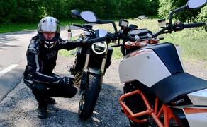 Honda CB650R vs. KTM 690 Duke 2019 Bild 13