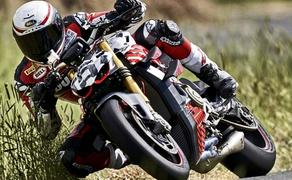 Ducati Streetfighter V4 2020 Prototyp Bild 6