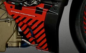 Ducati Streetfighter V4 2020 Prototyp Bild 9