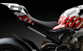 Ducati Streetfighter V4 2020 Prototyp Bild 10
