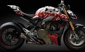 Ducati Streetfighter V4 2020 Prototyp Bild 15
