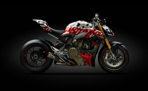Ducati Streetfighter V4 2020 Prototyp Bild 4