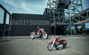 Harley-Davidson Fat Boy als Lego Modell Bild 5