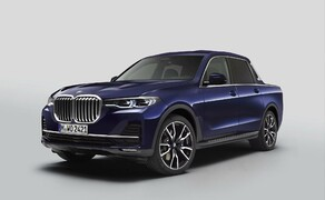 BMW Pickup! Bild 3 BMW X7 Pickup