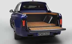 BMW Pickup! Bild 8 BMW X7 Pickup